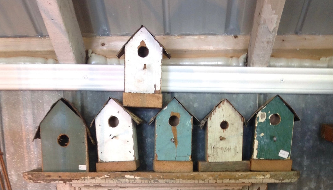 Decorative mini birdhouse