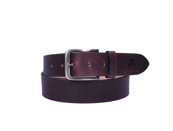 Mens Leather Belt - GOOSEBERY