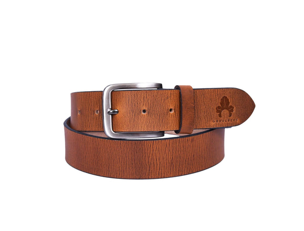 Brown Belt for Mens - GOOSEBERY