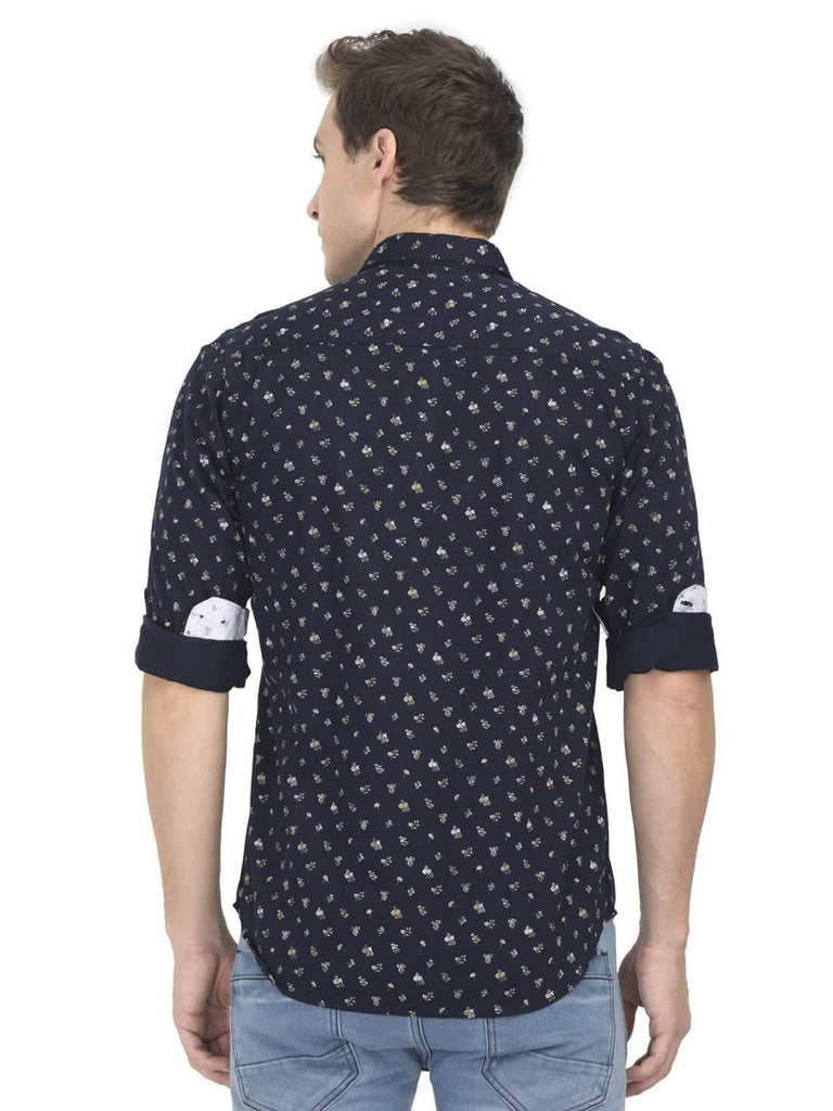 Navy Blue Shirt for Men (DNMFD 2207) - GOOSEBERY