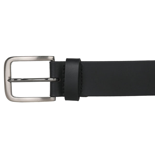 Casual Black Belt for Men - GOOSEBERY