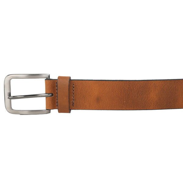 Brown Genuine Leather Belt for Men - GOOSEBERY