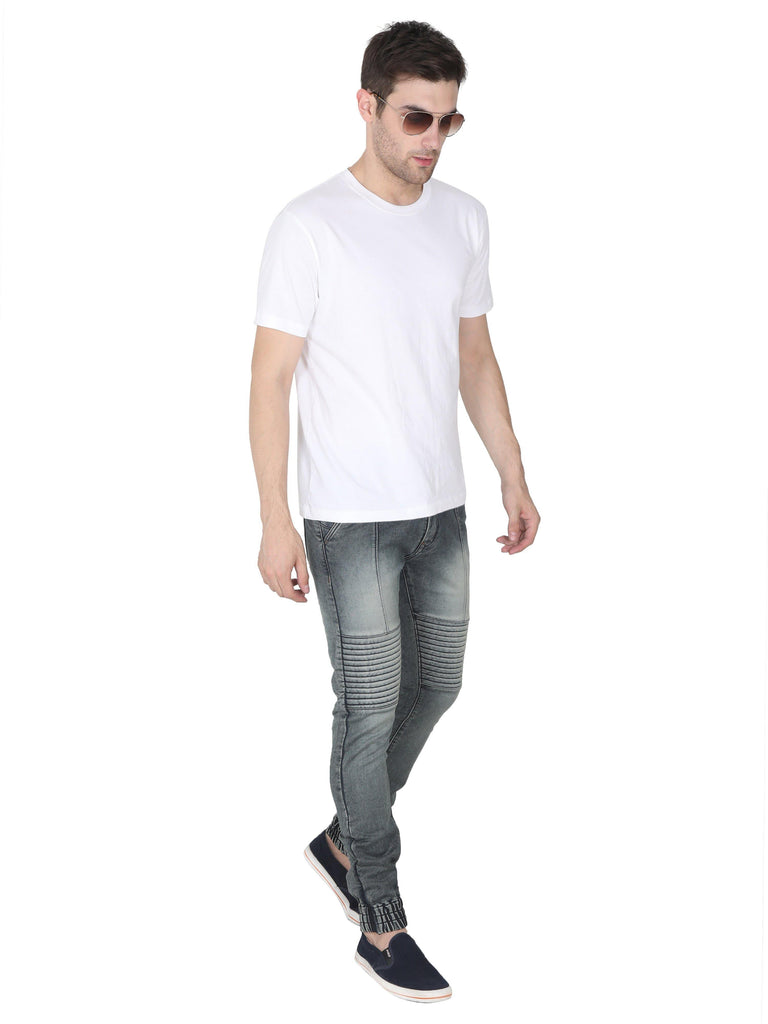 Light Grey Denim Jeans for Men - GOOSEBERY
