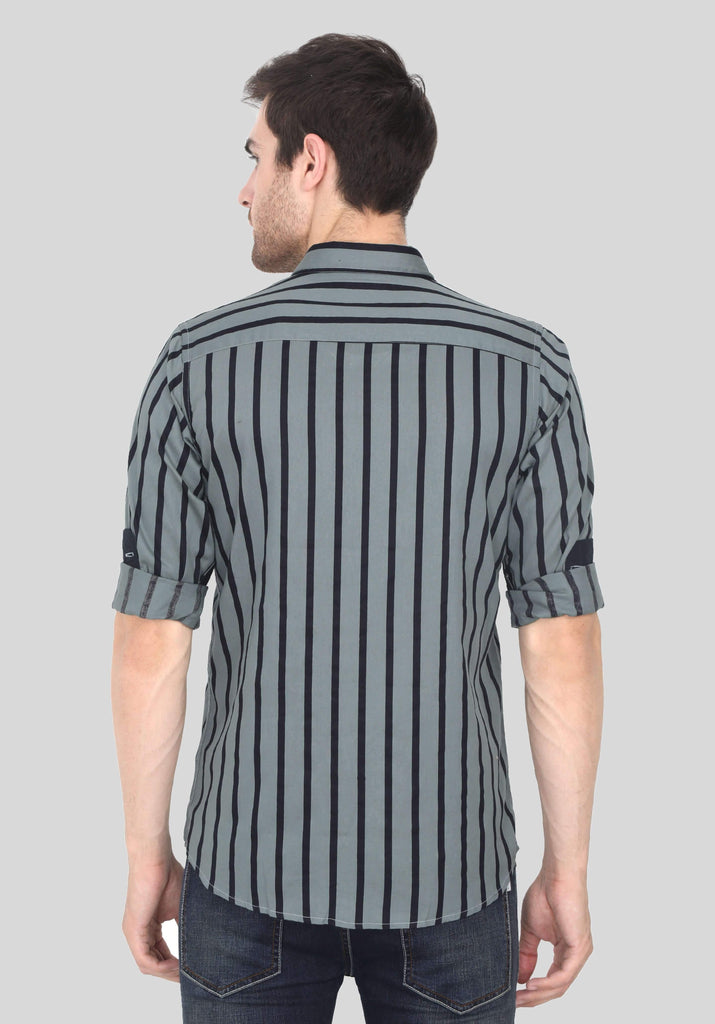 Grey Shirt for Men (EDGER 1002) - GOOSEBERY