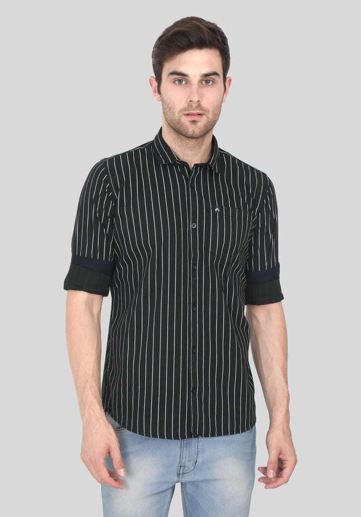 Black Shirt for Men (EDGER 1014) - GOOSEBERY