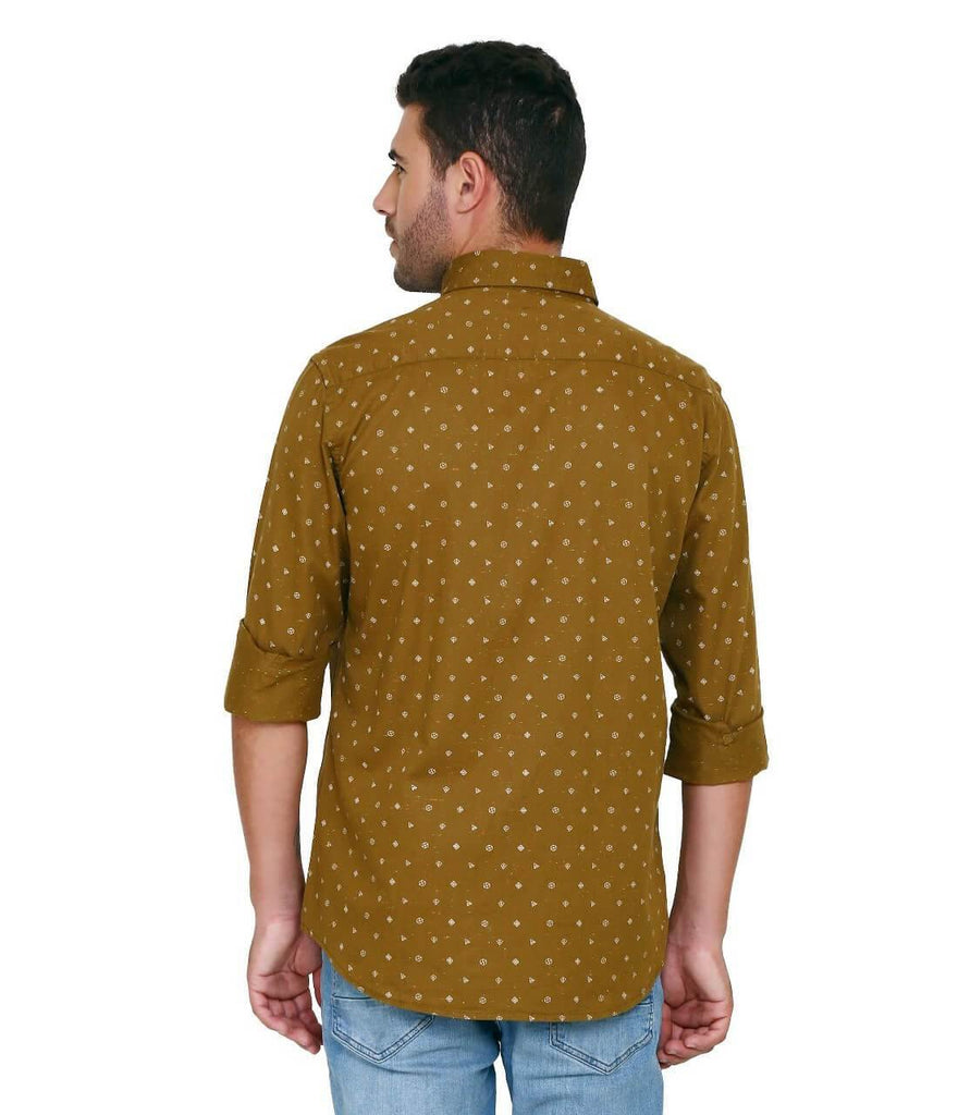 Brown Shirt for Men (ESPINOSA 11) - GOOSEBERY