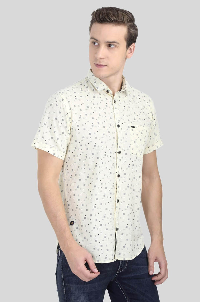 White Shirt for Men (ESPINOSA 2216) - GOOSEBERY