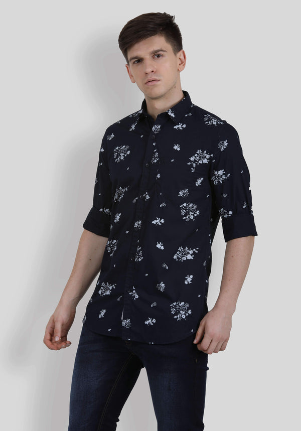 Black Shirt for Men (ESPINOSA 5002) - GOOSEBERY