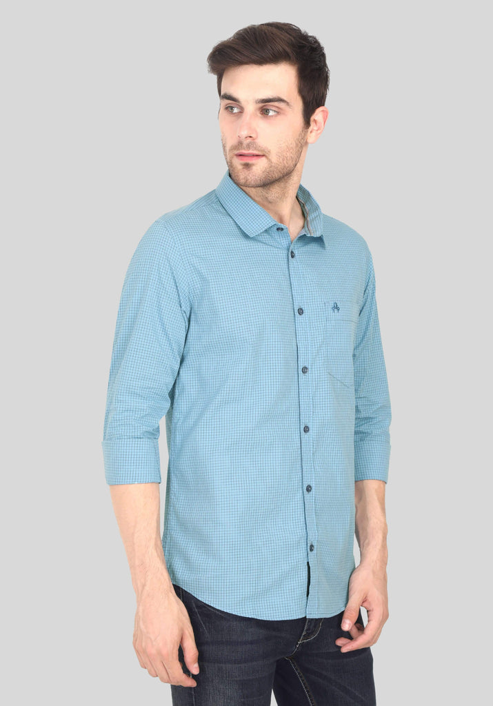Light Blue Shirt for Men (GBFRML1002) - GOOSEBERY