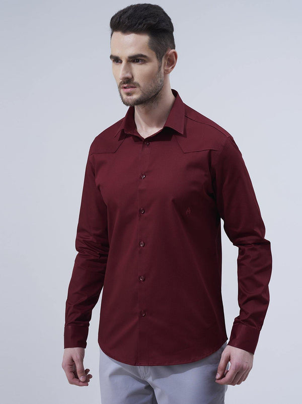 Maroon Mens Shirt