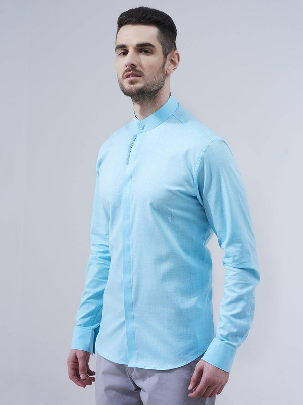 Sky Blue Mens Shirt