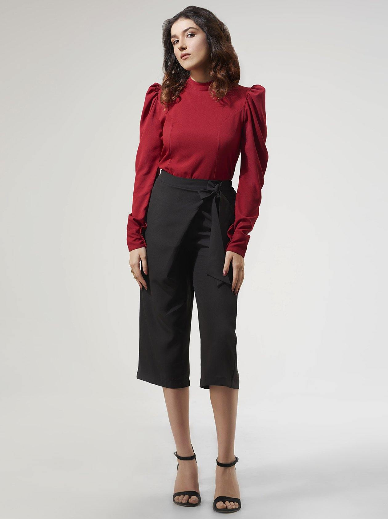 Red Top for Women (GBWT1001) - GOOSEBERY