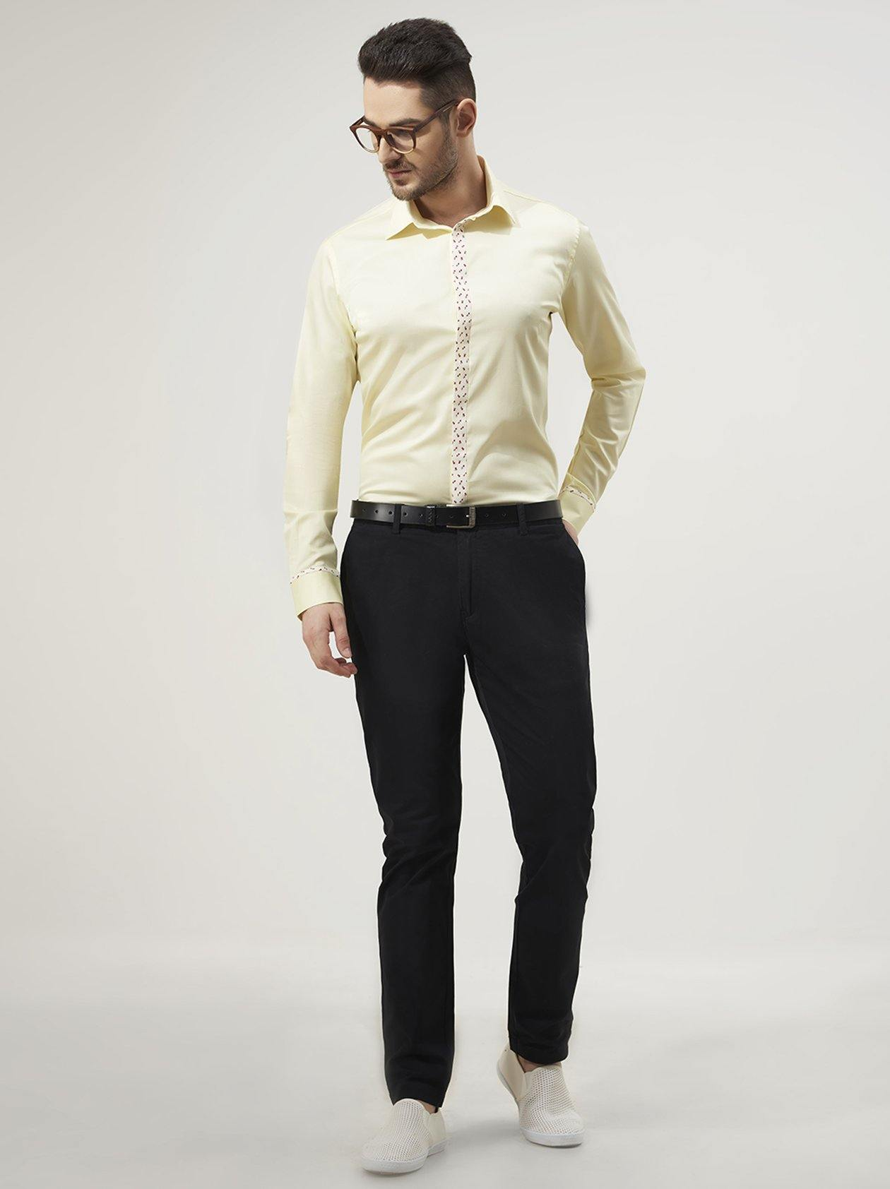 Cream Mens Shirt