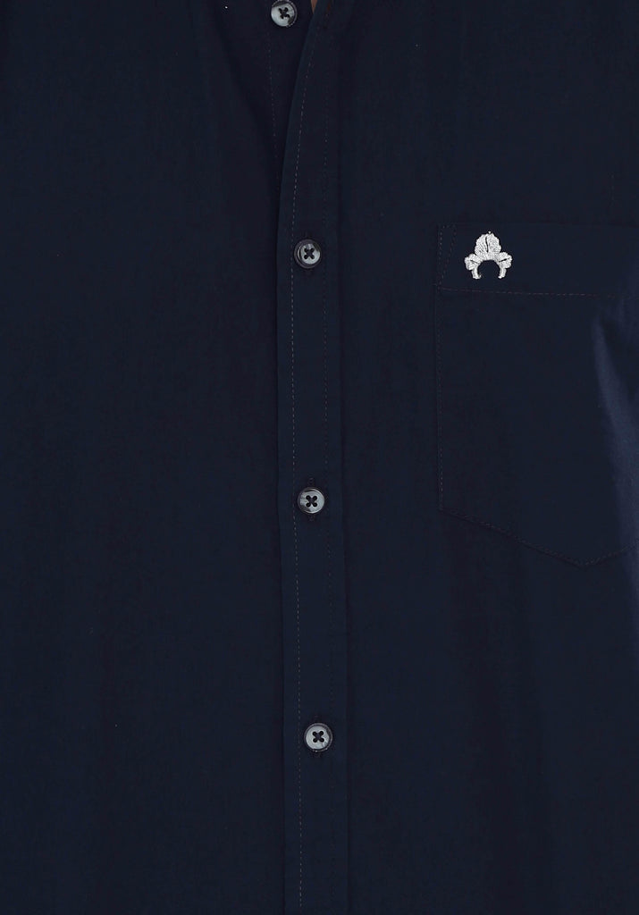 Navy Blue Shirt for Men (GROSULA 105) - GOOSEBERY