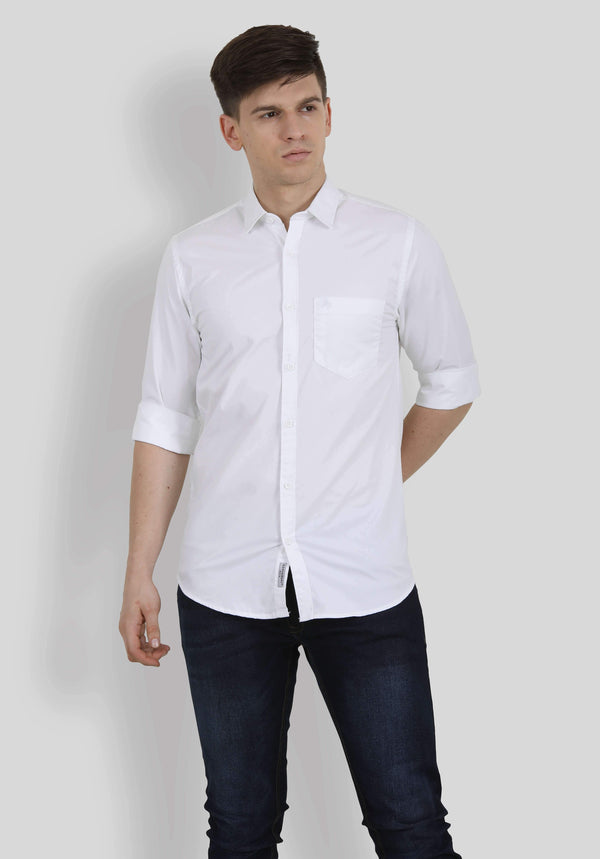 White Shirt for Men (GROSULA 5000) - GOOSEBERY