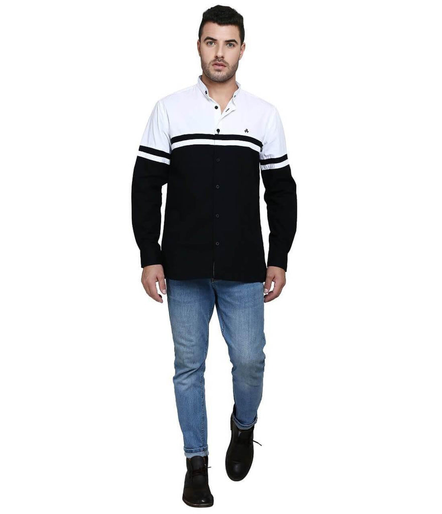 Black Shirt for Men (GROSULA 36) - GOOSEBERY