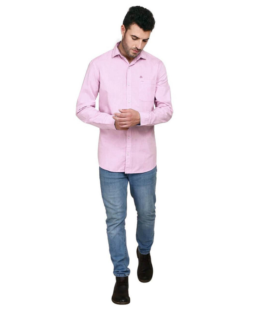 Pink Shirt for Men (GROSULA 42) - GOOSEBERY