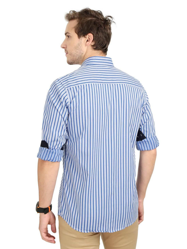 Light Blue Shirt for Men (EDGER 1018) - GOOSEBERY