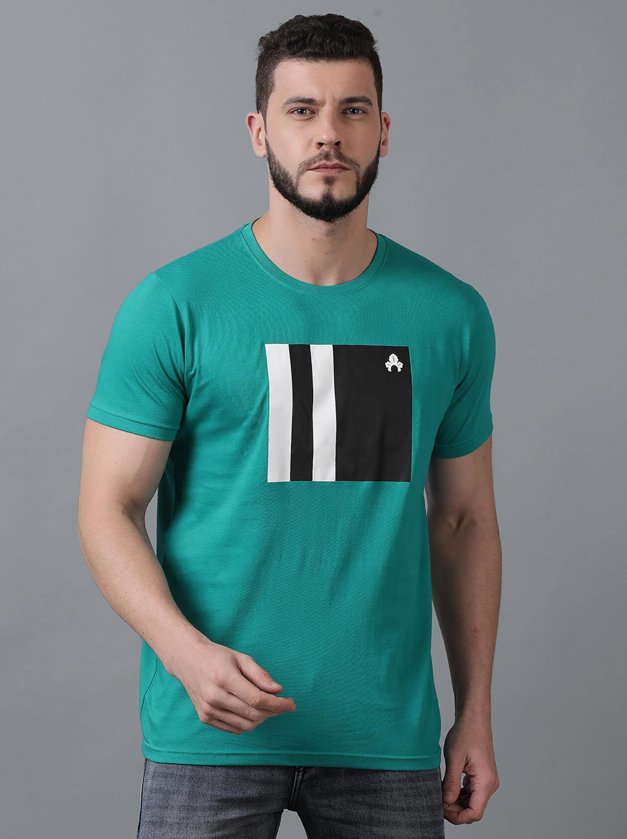 Green Mens T-Shirt (MAQUIRE 1006) - GOOSEBERY