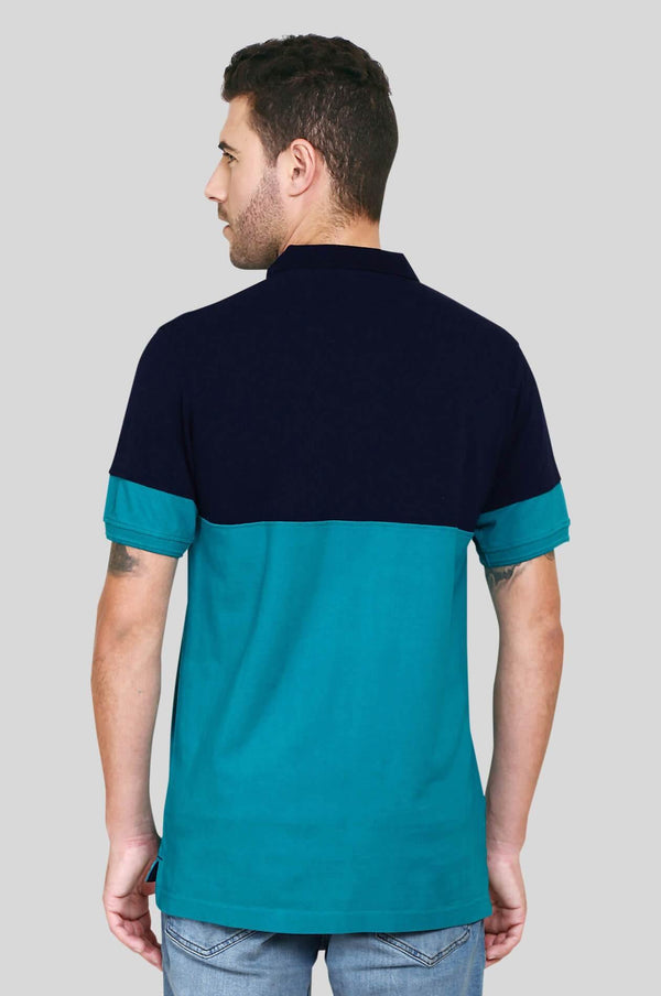 Green Polo T-Shirt for Men (UVA GREEN) - GOOSEBERY
