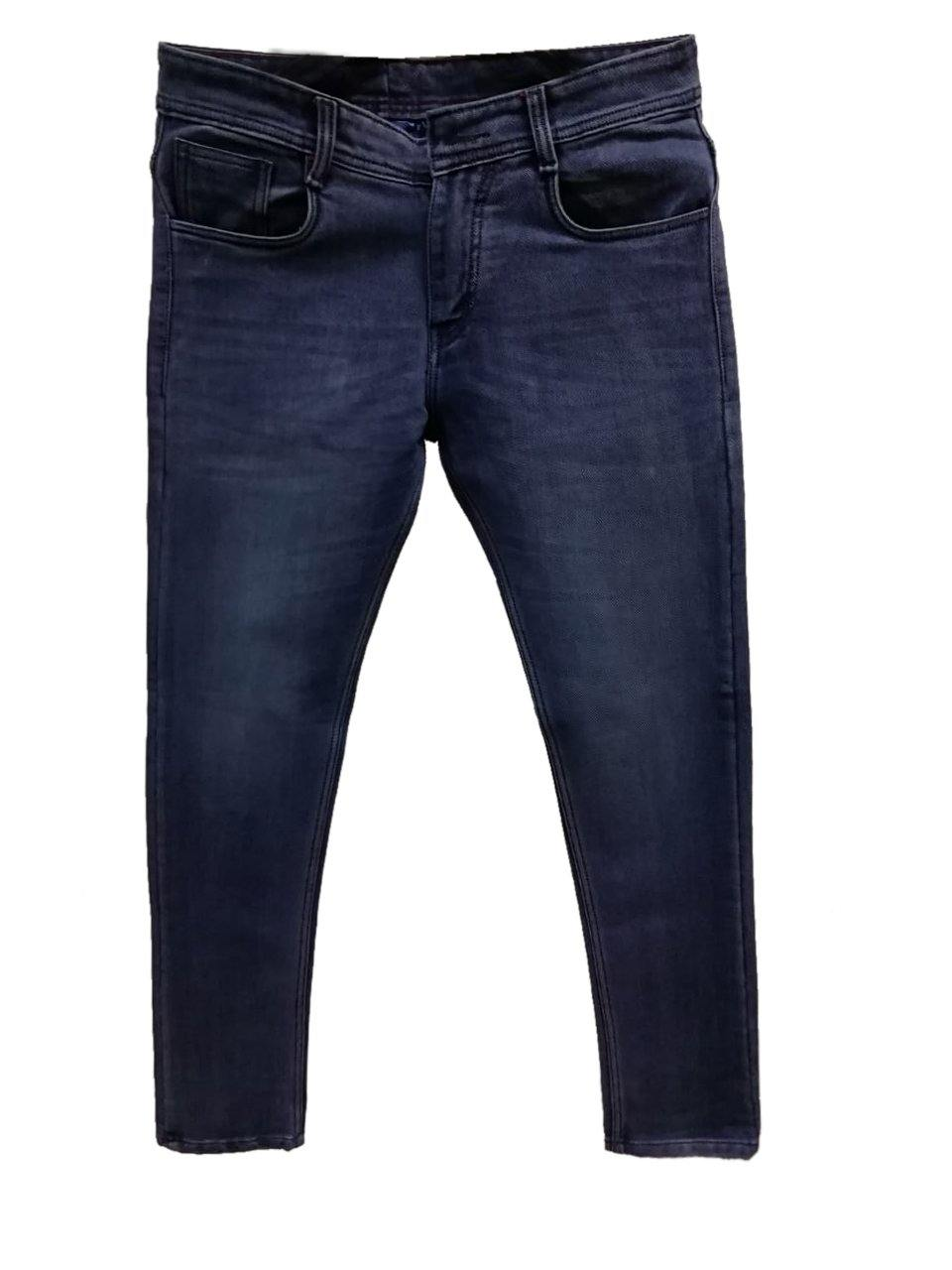 Dark Blue  Denim Jeans for Men (GBDNM1305) - GOOSEBERY