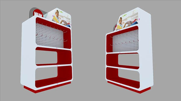 Fully Brandable Product Display Shelf Unit