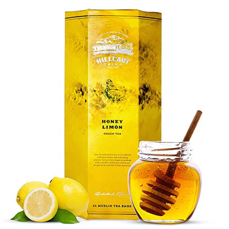 Hillcart Honey Lemon 14S Tea Bag Box