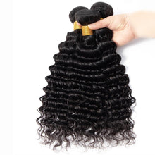 Load image into Gallery viewer, BeuMax Hairs 9A Grade Brazilian Human Hair Extension Deep Wave Bundles
