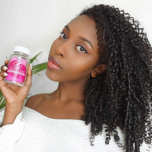 Hairfinity Candilocks Chewable Hair Vitamins - Gummies Scientifically formulated with Biotin, Inositol, and Choline for Longer, Stronger Hair Growth (60 Vegetarian Gummies)