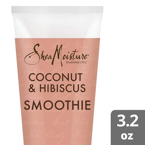 SheaMoisture Coconut & Hibiscus Curl Enhancing for Thick, Curly Hair Smoothie to Reduce Frizz 3.2 oz (I0080326)