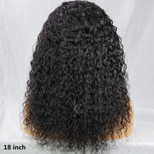 Load image into Gallery viewer, Headband Wig Human Hair Water Wave Human Hair Wigs for Black Women Glueless None Lace Front Wigs 150% Density 14inch
