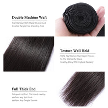 Load image into Gallery viewer, Wigirl Straight 28 30 32 40 Inch Virgin Remy Brazilian Hair Weave Human Hair Bundles Natural Color 100% Human Hair Extension