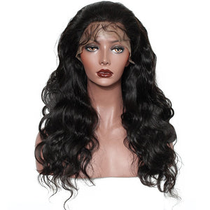13x6 Lace Front Human Hair Wigs For Women 250 Density Body Wave 360 Lace Frontal Wig Fake Scalp Bob 370 Closure Full 30 Inch Wig