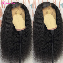 Load image into Gallery viewer, 13x4 13x6 Lace Front Human Hair Wigs Pre Plucked With Baby Hair Brazilian Deep Wave Wig Lace Front Wig Non-Remy Jazz Star Hair