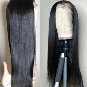 Brazilian Lace Front Human Hair Wigs 30 Inch Straight Lace Closure Wigs for Women 4x4 13x4 Frontal Wigs Full With Baby Hair