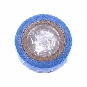 1 roll  Blue  1 cm*3 yards super hair Blue tape double-sided adhesive tape for hair extension/lace wig/toupee