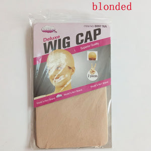 12pieces(6bags) Clearance Quality Deluxe Wig Cap Hair Net
