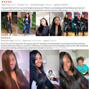 13x6 x1 Straight Lace Front Human Hair Wigs 30 Inch Closure Wig Remy Brazilian Straight Bob Wig Transparent HD Lace Frontal Wig