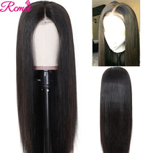 Load image into Gallery viewer, Middle Part Lace Front Human Hair Wigs 28'' Lace Part Wigs Pre Plucked With Baby Hair 150% Brazilian 13*1 Part Lace Remy Wigs