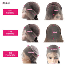 Load image into Gallery viewer, Loose Wave Wig Lace Front Human Hair Wigs Brazilian Human Hair Wigs Remy 360 Lace Frontal Wig Pre-Plucked Closure Wig for Women