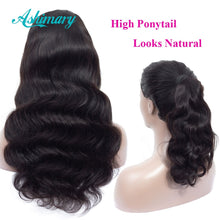Load image into Gallery viewer, Ashimary 4x4 Lace Closure Wigs Human Hair Brazilian Body Wave Lace Wigs for Black Women Pre Plucked with Baby Hair 180 Density