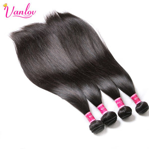 Straight Hair Bundles With Closure Brazilian Hair Weave Bundles With Closure Jet Back Human Hair Bundles With Closure Remy Hair