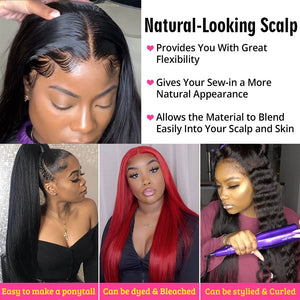 Beaudiva Straight Bundles With Closure Brazilian Hair Weave Bundles With Closure Human Hair Bundles With Closure Hair Extension