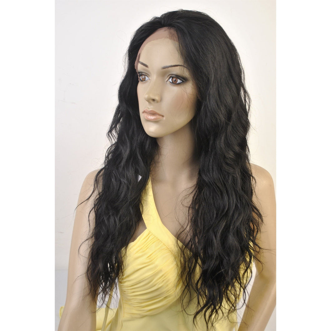 SWISS LACE 100% VIRGIN HUMAN HAIR LOOSE WAVE TEXTURE. 20