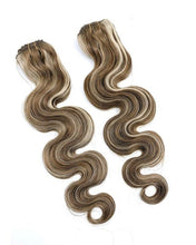 Load image into Gallery viewer, 100% Remy Human Hair Clip Extensions/ Body Wave 24''