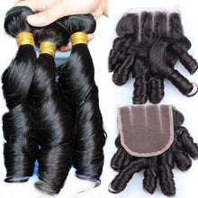 Load image into Gallery viewer, 10A Grade Brazilian 100% Unprocessed Virgin Weave Hair Extension Funmi