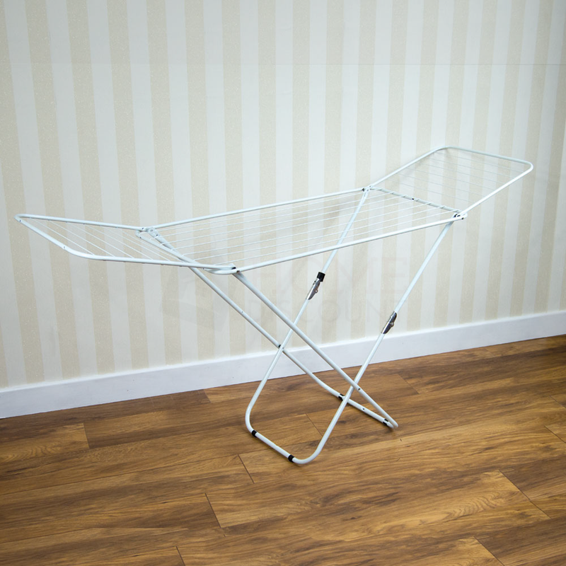 Winged Folding Clothes Airer
