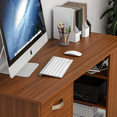 Mason Computer Desk, Walnut