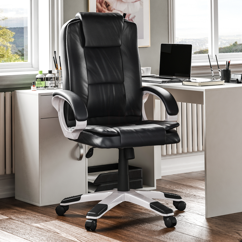 Charlton Office Chair, Black