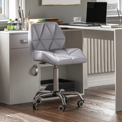 Geo Office Chair, Grey